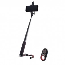 Lazda asmenukei (selfie stick) - stovas Bluetooth Forever PMP-02 classic monopod