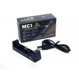Mikroprocesorinis įkroviklis Xtar XTAR-MC1 Li-ion per USB