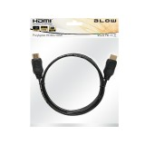 Laidas HDMI-HDMI (K-K) 1m Gold High Speed with Ethernet Blow