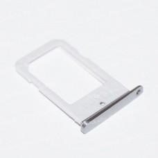 Samsung G925 Galaxy S6 Edge sim holder silver originalas