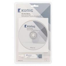 CD diskas valiklis Konig TVCLC10 su valymo skysčiu 20ml