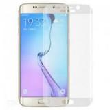 LCD apsauginis stikliukas Samsung G925 Galaxy S6 Edge Tempered Glass silver lenktas