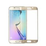 LCD apsauginis stikliukas Samsung G928 Galaxy S6 Edge+ Plus Tempered Glass gold lenktas