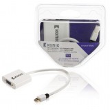 Adapteris DisplayPort mini-VGA (K-L) 0,2m Konig