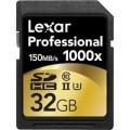 Atminties kortelė 32GB 1000X Lexar SDHC UHS2