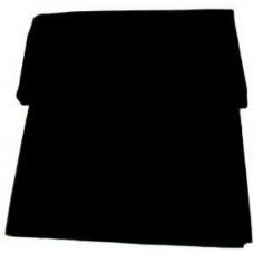 Akustinė medžiaga 0.75x1.40m juoda