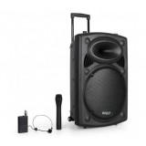 """Garso sistema nešiojama 15"""" (38cm) 800W 35Hz - 20kHz PORT15UHF Ibiza Sound"""