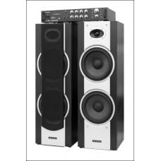Kolonėlės su stiprintuvu Dixon Stereo ST 02 Set