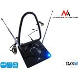 Kambarinė TV antena DVB-T Maclean stiprintuvu