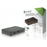 HDMI sumatorius 2>1 Konig KNVSW3402 2port