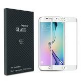 LCD apsauginis stikliukas Samsung G935 Galaxy S7 edge Tempered Glass lenktas Gold