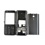 Korpusas Nokia 230 black HQ