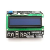 LCD ekranas su mygtukais 16x2