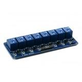 Relė-modulis 8 kanalų
