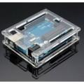 Dėžutė, permatoma Arduino Uno R3