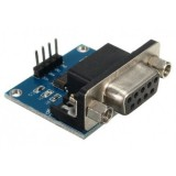 Konverteris MAX3232 RS232 į TTL Serial Port DB9 jungtis Arduino