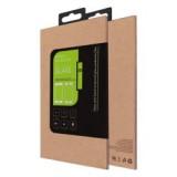 LCD apsauginis stikliukas iPhone 6/6S Tempered Glass su juodu silikoniniu apvadu
