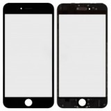 LCD stikliukas Apple iPhone 6 su rėmeliu ir OCA black (O)