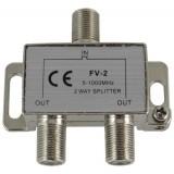 TV signalo daliklis 1>2, 5-1000MHz FV-2