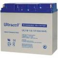 Švino akumuliatorius 12V 18Ah Ultracell