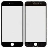 LCD stikliukas Apple iPhone 6S Plus su rėmeliu ir OCA black (O)