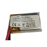 Akumuliatorius 3,7V 70mAh 4x15x20mm Li-Polymer