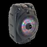 """Nešiojama garso sistema Party PARTY-6LED su šv. efektu, USB/FM/Bluetooth, 6"""""""