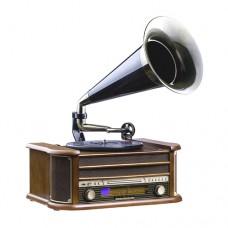 Gramofonas su radio imtuvu retro dizainas Camry CR1160