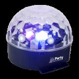 Šviesos efektas PARTY ASTRO 6 LED 6x1W RGB