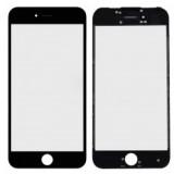 LCD stikliukas Apple iPhone 5 su rėmeliu ir OCA black (O)