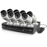 Vaizdo įrašymo įrenginys bevielis NVR Kit 8 kanalai + 8 kameros