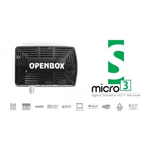 Imtuvas HDTV Openbox S3 micro HD