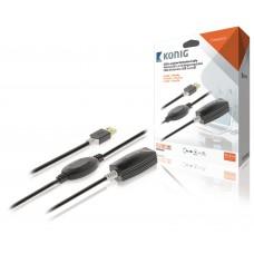 USB 2.0 ilgiklis Konig KNCRP6020 (K-L) 20m