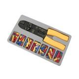 Izoliuotų jungčių rinkinys su daugiafunkciu įrankiu 100vnt 45050
