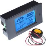 Panelinis skaitmeninis voltmetras-ampermetras-energijos matuoklis 260V 100A 22000W
