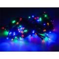 Lemputės kalėdų eglutei LED RGB 100vnt