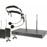 Belaidžių mikrofonų sistema Chord NU2-N 863.3+864.3 MHz