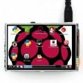 "Liečiamas ekranas Raspberry Pi 3.5"" LCD TFT (320×480px)-GPIO"