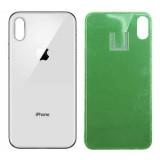 Galinis dangtelis iPhone X silver HQ