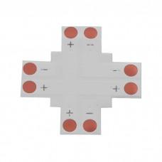 Jungtis LED juostai 2pin 10mm + formos lituojama