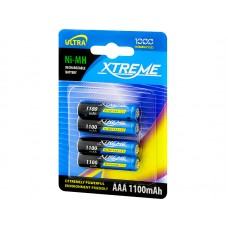 Akumuliatorius AAA (HR03) 1,2V 1100mAh Xtreme