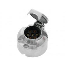 Automobilio priekabos maitinimo lizdas 7 kontaktų metalinis Xtreme
