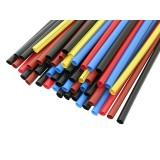 Termoizoliacinis vamzdelis su klijais 4mm (įvairių spalvų)