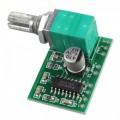 Audio stiprintuvas PAM8403 2x3W su Potenciometru