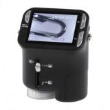 Mikroskopas skaitmeninis USB su LCD ekranu 1600x1200
