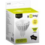 LED lempa GU5.3 12V 4W 2700K šiltai balta Goobay