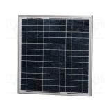 Saulės baterijos modulis 30W 21.7V 1.83A