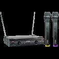 Belaidžių mikrofonų sistema PARTY-200UHF 863.2+864.2MHz