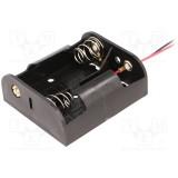 Laikiklis baterijoms 2xC (R14)