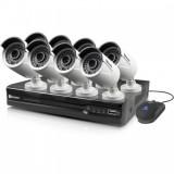 Vaizdo įrašymo įrenginys NVR PoE Kit + 8 kameros 2MP PMX